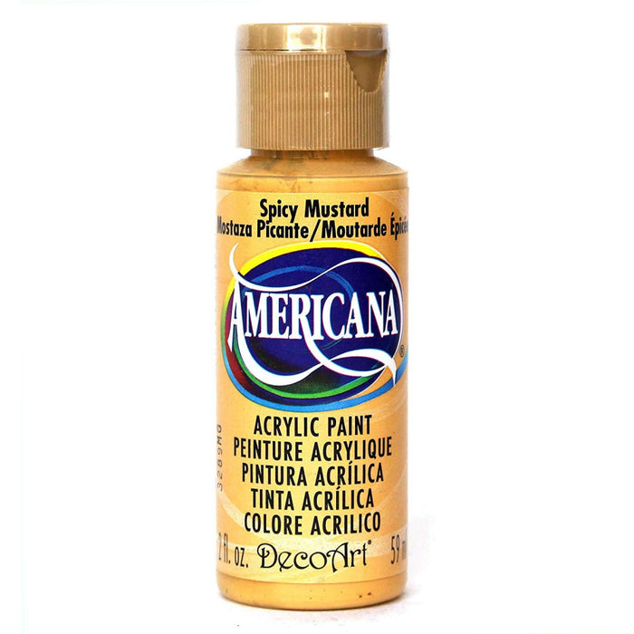 Americana Acrylic Colour - Spicy Mustard