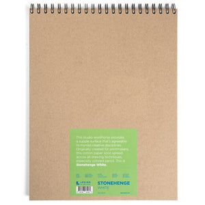 "Stonehenge Wired Pad - 11""X 14"" - White"