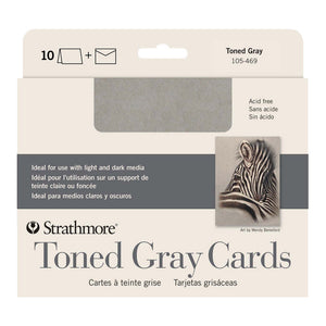Strathmore Toned Grey Cards