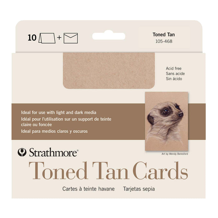 Toned Tan Cards