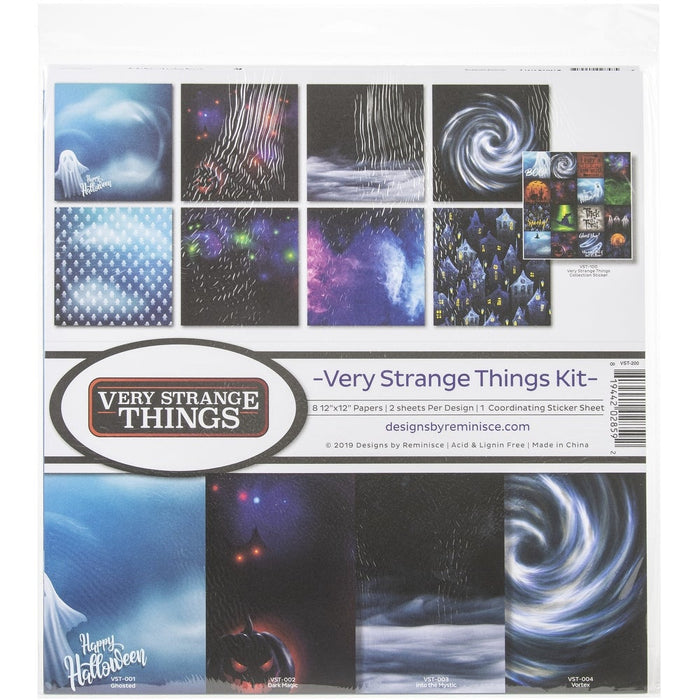 Reminisce Collection Kit - Very Strange Things