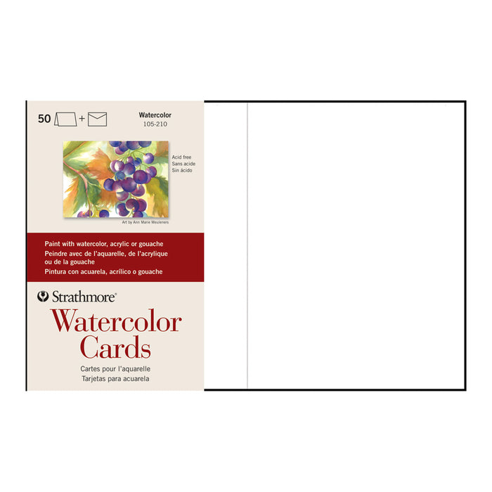 "Watercolour Cards - 5""X 7""- 50pk"