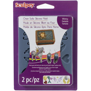 Sculpey Flexible Push Mold - Whimsy