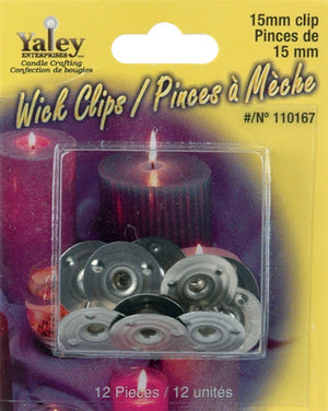 Candle Wick Clips - 15MM