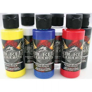 Wicked Airbrush - Basic Colours - 2 oz.