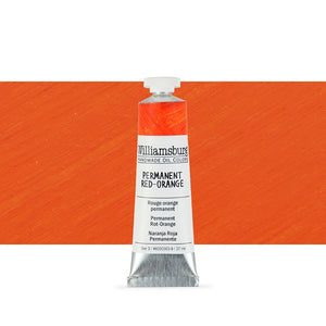 Williamsburg Oil Paint - 37ml - Oranges & Reds