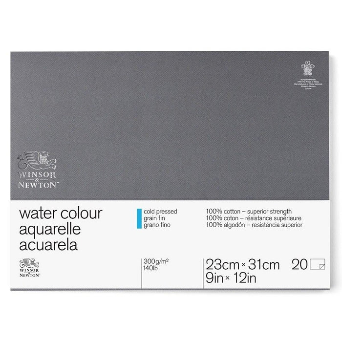 Professional Watercolour Paper Block- Cold-Press