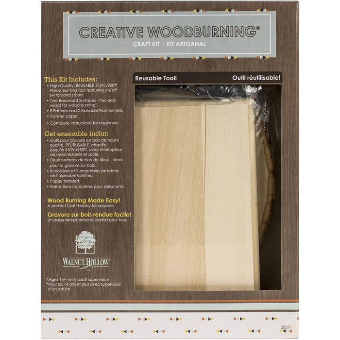 Creative Woodburning Craft Kit