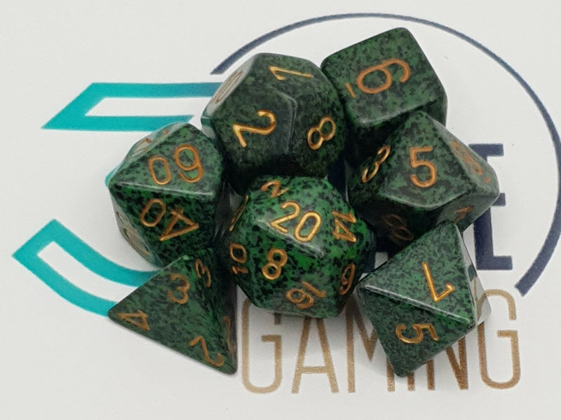 Chessex Speckled Poly Dice Set