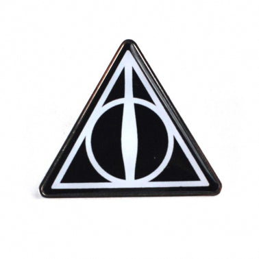 Harry Potter Pin Badge - Deathly Hallows