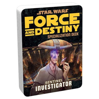 Specialisation Deck - Force And Destiny Investigator