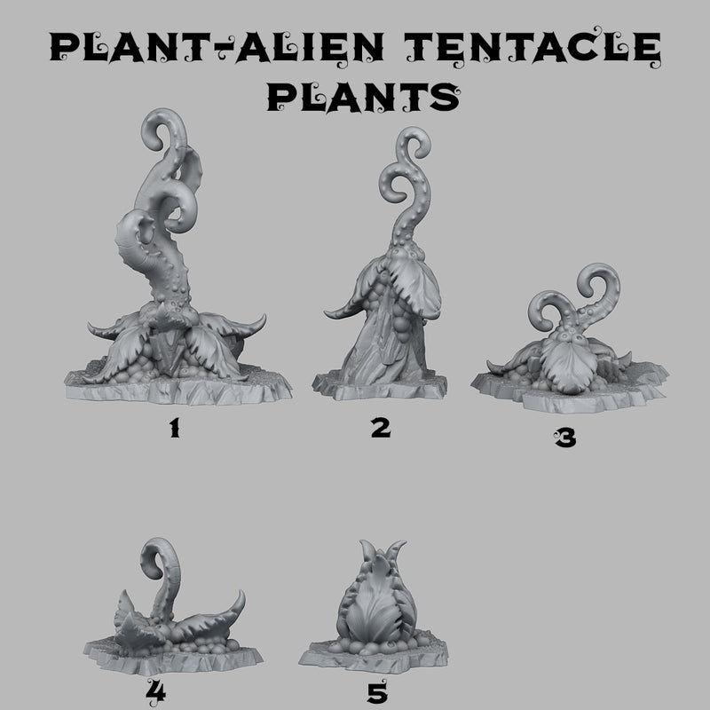 Alien Tentacle Plants