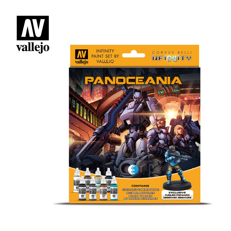 Model Color Set - Infinity Panoceania Exclusive Miniature