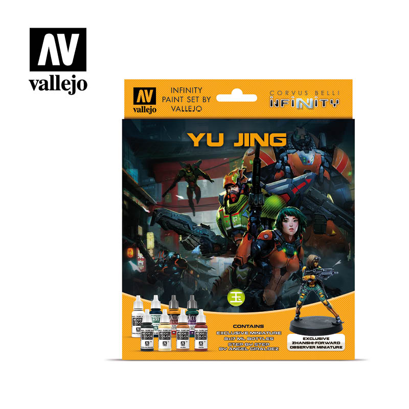 Model Color Set - Infinity Yu Jing Exclusive Miniature