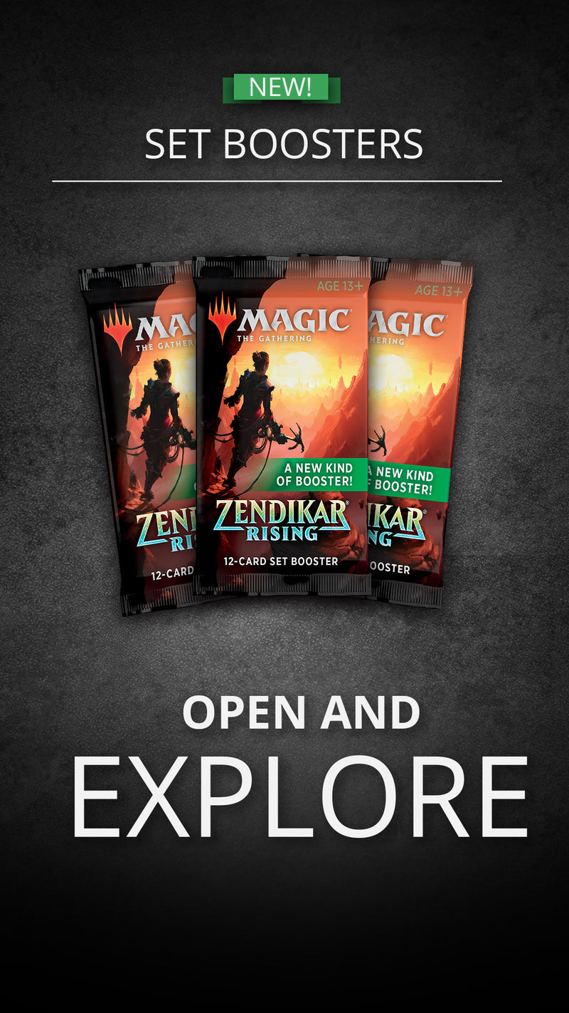 MTG: Zendikar Rising Set Booster Display