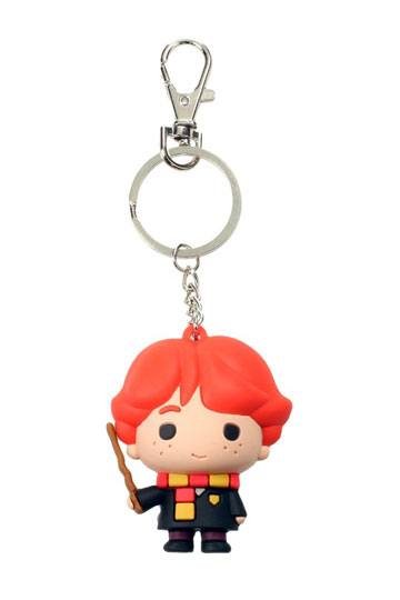 Harry Potter Rubber Keychain - Ron Weasley