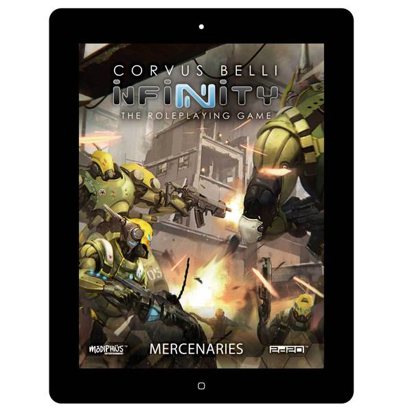 Infinity RPG Mercenaries Sourcebook (pdf)