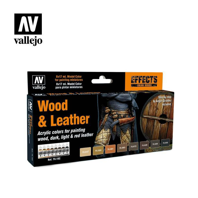 Model Color Set - Wood & Leather