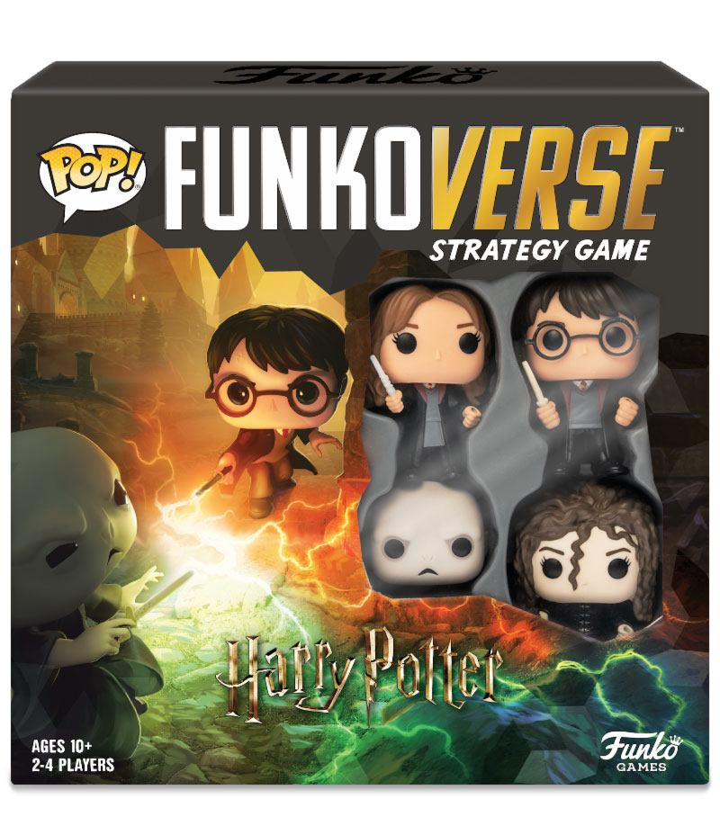 Harry Potter Funkoverse Board Game (4 Character base set)