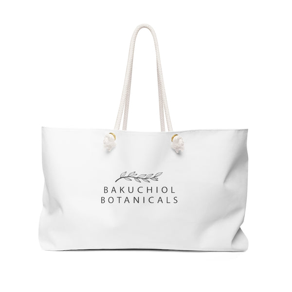 "Bakuchiol Botanicals Weekender Bag 24"" x 13"" - Bakuchiol Botanicals"