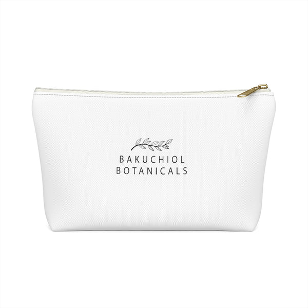 Bakuchiol Botanicals Travel Pouch w T-bottom - Bakuchiol Botanicals