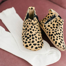 Load image into Gallery viewer, Chelsea Leopard Moccasin Boot
