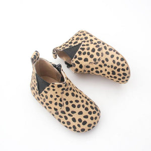 Chelsea Leopard Moccasin Boot