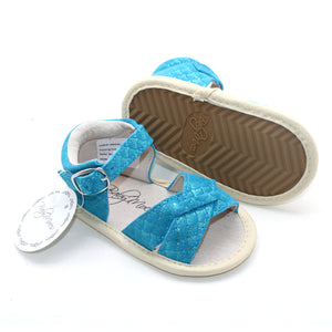 Mermaid Blue Sandals Open Toe