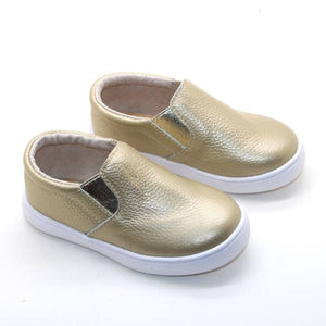 Slip-On Sneakers – Gold