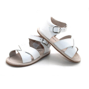 White Sandals Open Toe