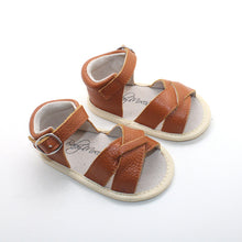Load image into Gallery viewer, Brown Sandals Open Toe
