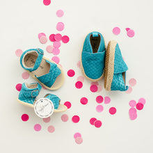 Load image into Gallery viewer, Espadrilles Mermaid Blue
