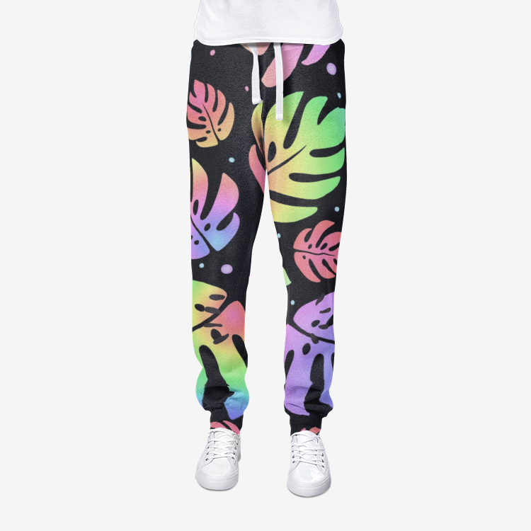 Bizarre All-Over Print men's joggers sweatpants