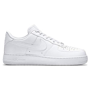 Nike Mens 315122-111 AIR FORCE 1 '07, white, US 9.5 - BIZARRE PRINTS