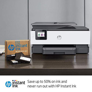 HP OfficeJet Pro 8025 All-in-One Wireless Printer, with Smart Tasks for Home Office Productivity & Never Run Out of Ink with HP Instant Ink (1KR57A) (Renewed) - BIZARRE PRINTS