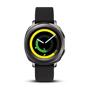 Samsung Gear Sport Smartwatch, Black (SM-R600NZKAXAR) (Renewed) - BIZARRE PRINTS