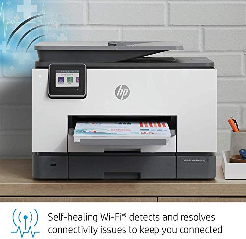 HP OfficeJet Pro 9025 All-in-One Wireless Printer Single-Pass (Automatic) Document Feeder and Two Paper Trays Smart Home Office Productivity (1MR66A) - BIZARRE PRINTS