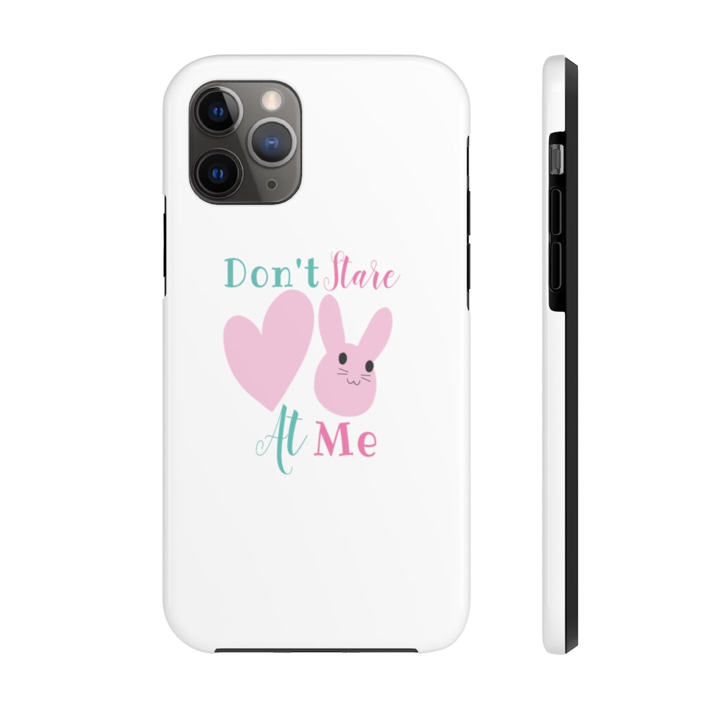 don't stare at me Tough Phone Cases - BIZARRE PRINTS