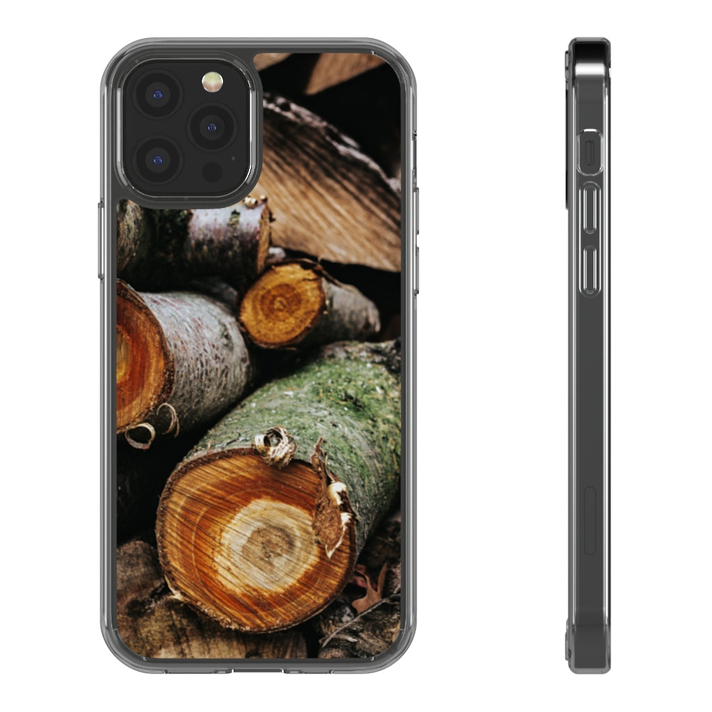 Wooden Clear Cases - BIZARRE PRINTS