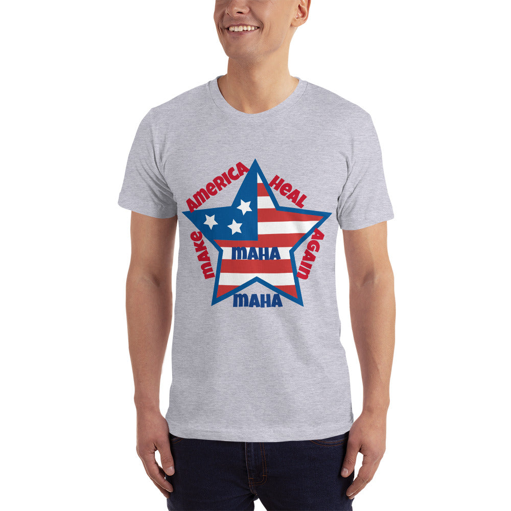 "Make America heal again "" Made in USA"" Unisex T-Shirt - BIZARRE PRINTS"