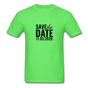 Save the date 11.03.2020_Men's T-Shirt - BIZARRE PRINTS
