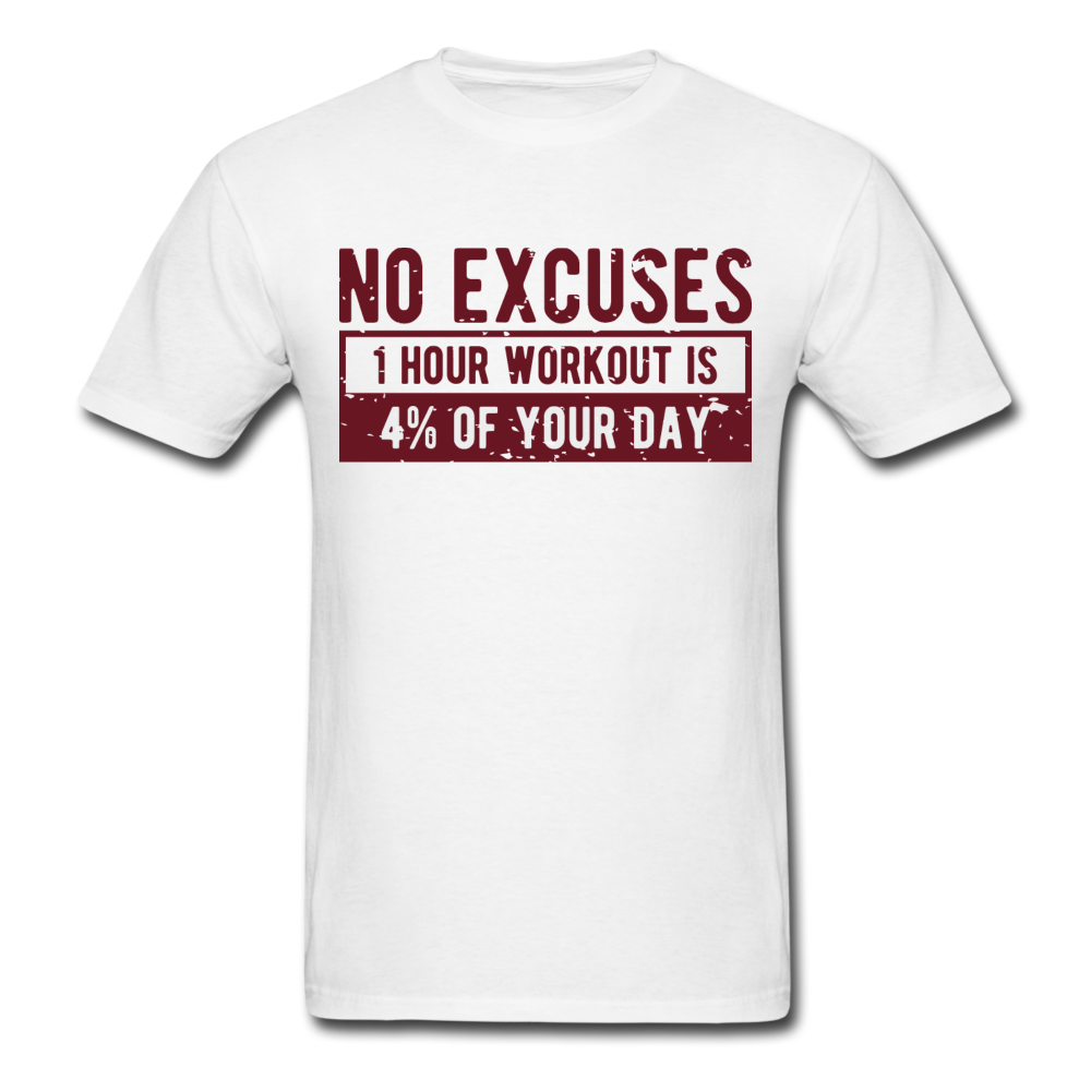 NO EXCUSES Unisex T-Shirt - BIZARRE PRINTS