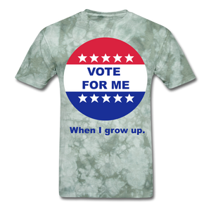 Vote For Me When I Grow UP UNISEX T-Shirt - BIZARRE PRINTS