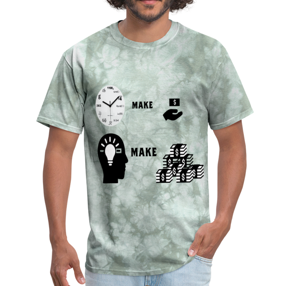 Hours make dollars brain makes millions Unisex Tee - BIZARRE PRINTS
