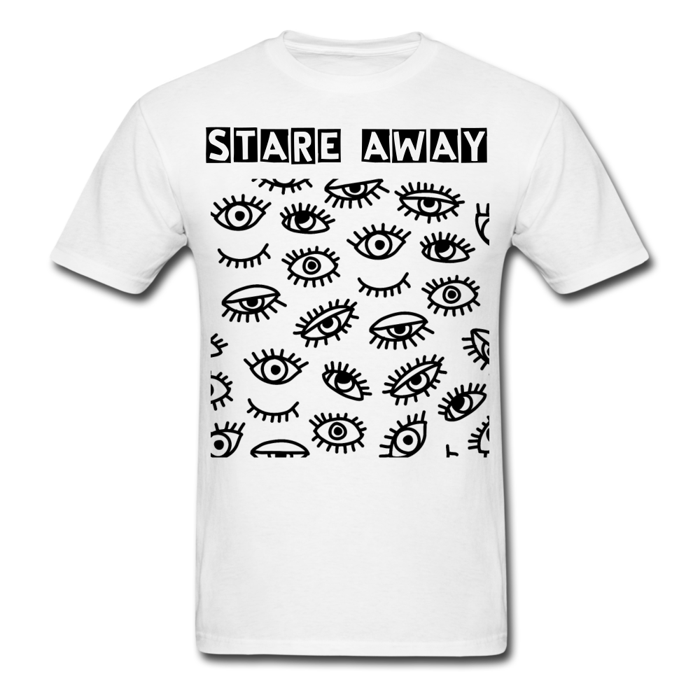 Stare away Unisex T-Shirt - BIZARRE PRINTS