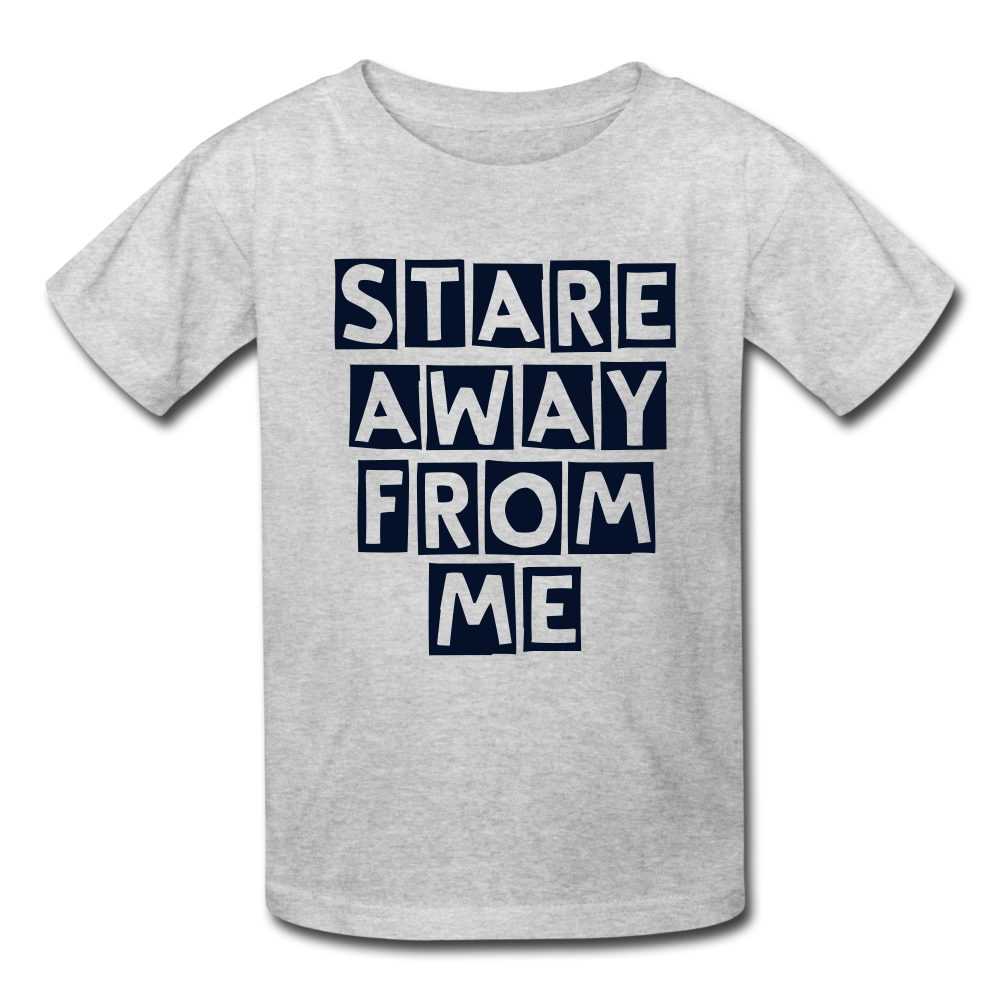 Stare away from me Kids' T-Shirt - BIZARRE PRINTS
