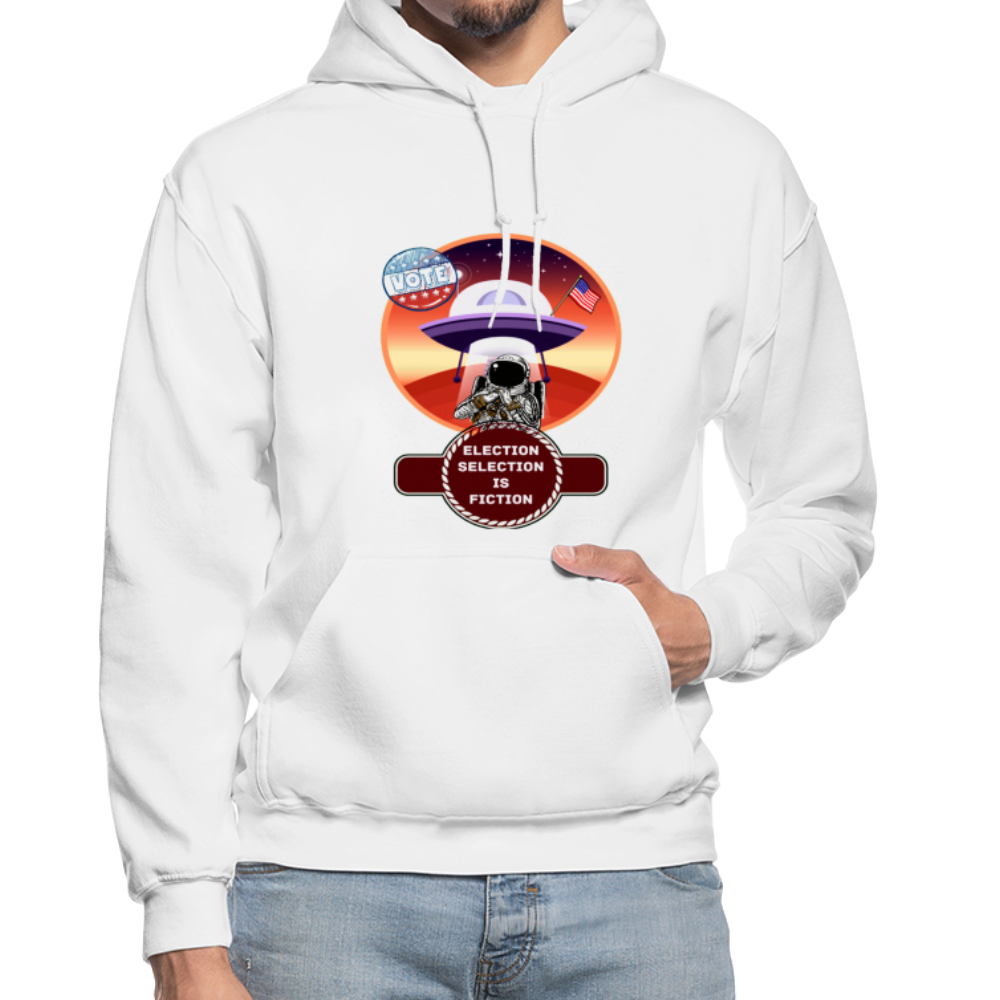 Election Selection Is Fiction Unisex Hoodie - BIZARRE PRINTS