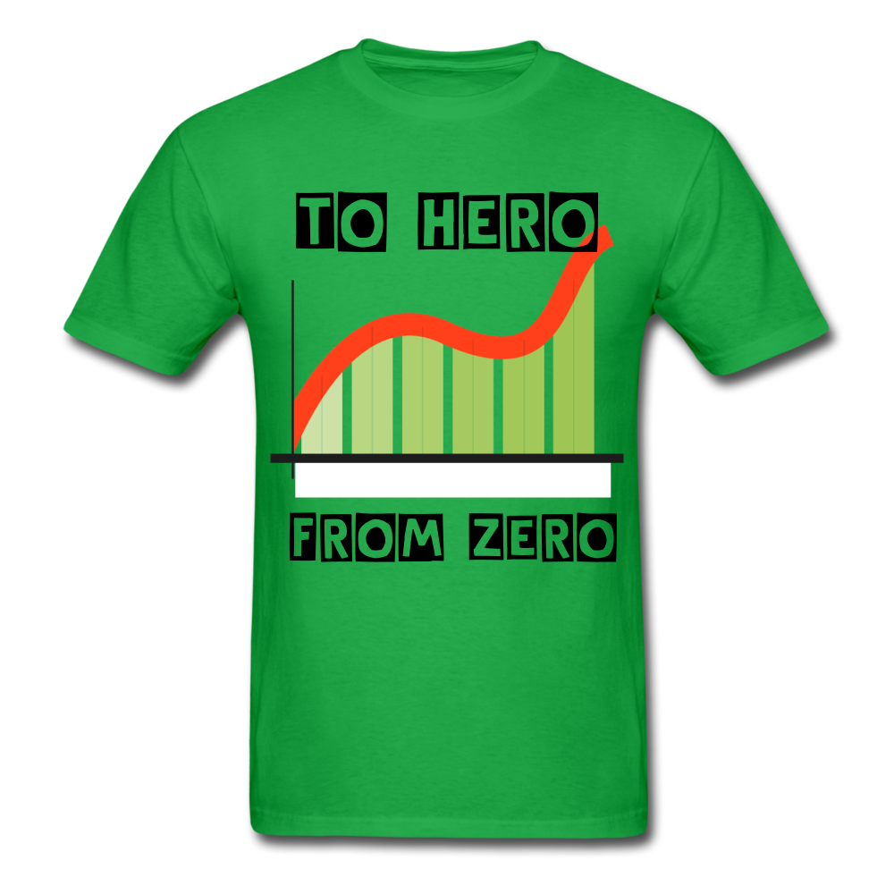 From Zero to Hero unisex Classic T-Shirt - bright green
