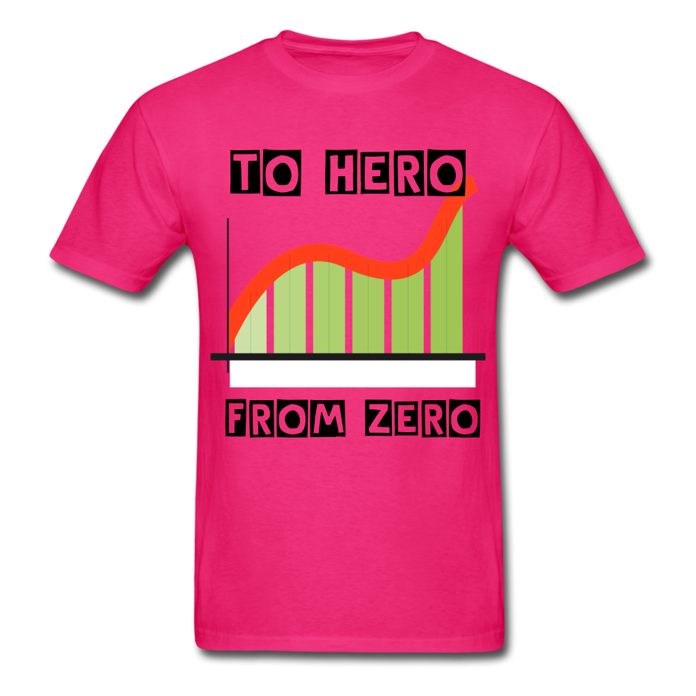 From Zero to Hero unisex Classic T-Shirt - fuchsia
