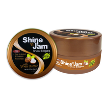 Load image into Gallery viewer, Shine 'n Jam Shea Edges with Shea Butter 63g